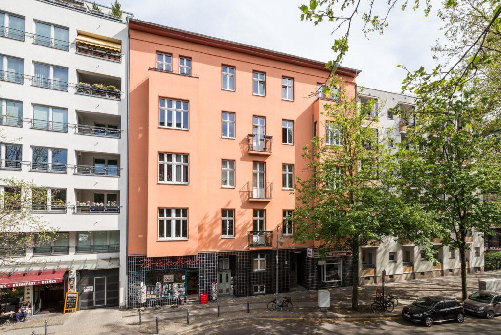 Apartment building in Berlin