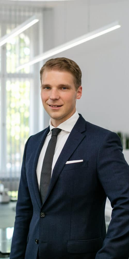 Dennis Rekittke Chief Operations Officer der MÄHREN AG
